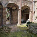 Montebuono, centro storico - cortile Mostocotto